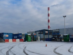 Stena Ekostacja - zdjęcie sprzed paru dni, gdy jeszcze mielismy pozory zimy / fot. targowek.info