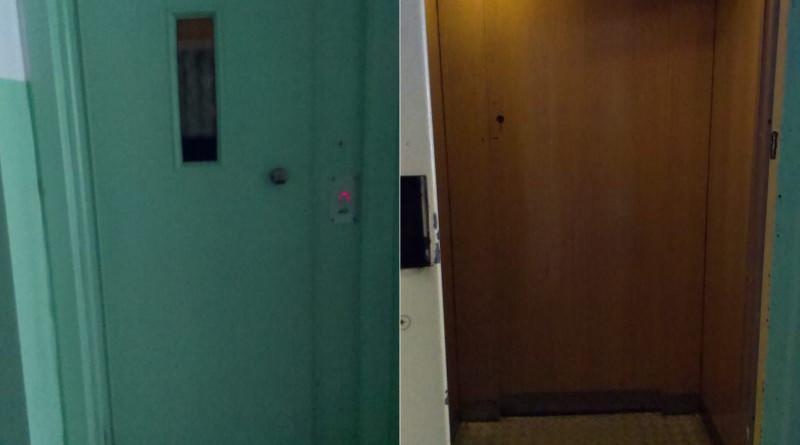 Winda w bloku przy Kondratowicza 41  / fot. targowek.info