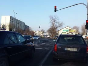 Skrzyżowanie ul. św. Wincentego i Matki Teresy /fot. targowek.info
