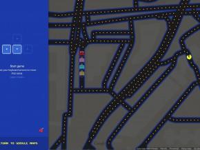 Pac-Man na Targówku - kto rozpozna, która to część dzielnicy? / fot. Google Maps