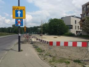Malborska do remontu, nowe parkingu już są / fot. targowek.info
