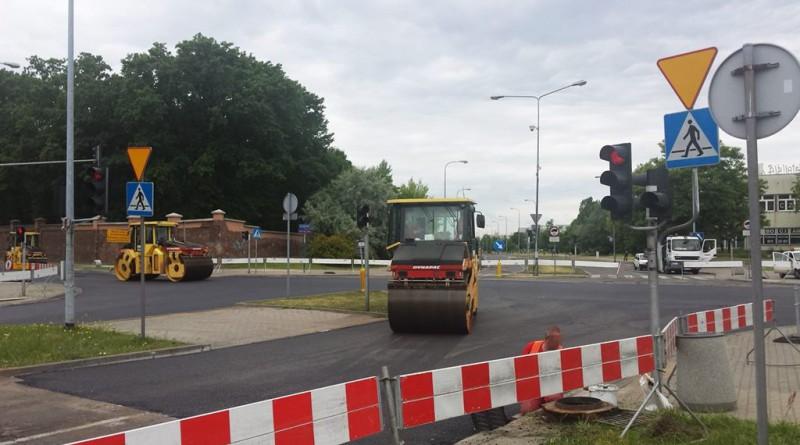 Frezowanie ul. św. Wincentego / fot. targowek.info