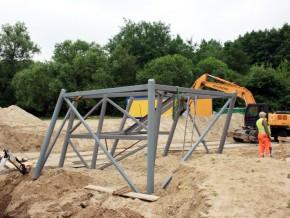 Rozpoczęła się budowa wieży nad jeziorem na Targówku