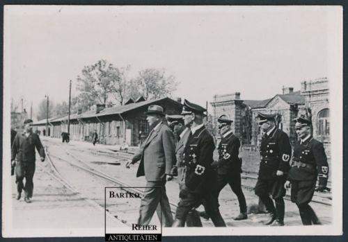 Zdjęcie niemieckiej delegacji z Juliusem Dorpmüllerem