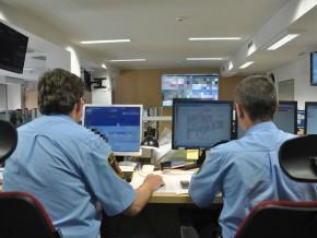 Sala, w której pracują dyżurni Straży Miejskiej / fot. Straż Miejska