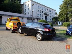 Jeden z samochodów skradzionych przez złodziei z Targówka / fot. Policja/KSP