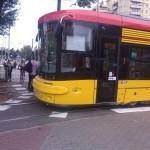 Wieczorny objazd tramwajów