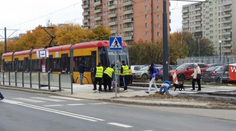 Tramwaj na Rembielińskiej / fot. targowek.info