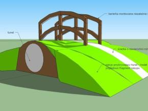 Rysunek jednego z tuneli, który powstanie na placu / rys. materiały projektantów