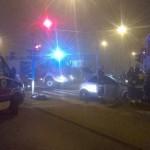 Kolejny wypadek na Kondratowicza. Dziwny