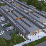 Zlikwidują ogródki, żeby zrobić parking pod bazarek