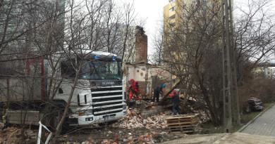 Rozbiórka rudery na ul. Samarytanka