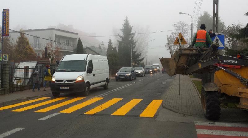 Budowa tymczasowego przejścia na ul. Samarytanka