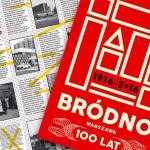 100 lat Bródna w Warszawie – zdobądź świetny plakat Pawła Sky'a