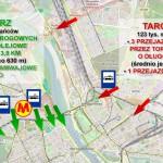 Dojazd do centrum z Żoliborza i z Targówka. Porównujemy opcje