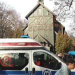 Napad na staruszkę na cmentarzu. Policja szuka świadków