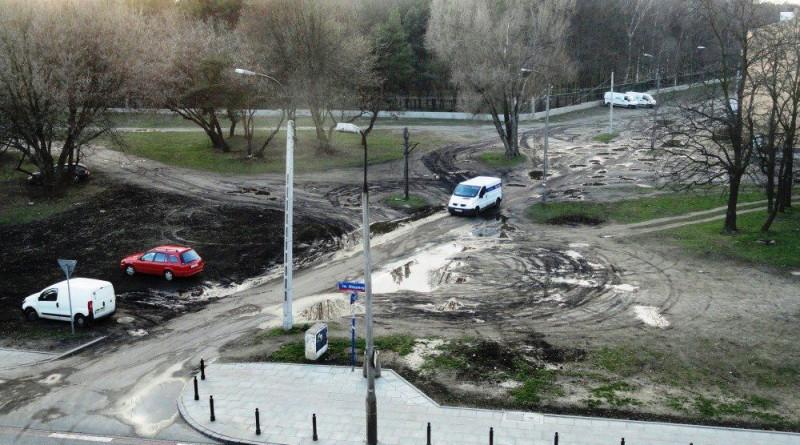 Skrzyżowanie Rogowskiej ze św. Wincentego / zdjęcie od czytelnika