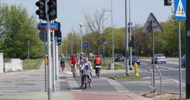 Luksusy dla rowerzystów na Bródnie