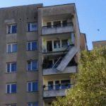 Urwany balkon na 9. piętrze bloku [AKTUALIZACJA]