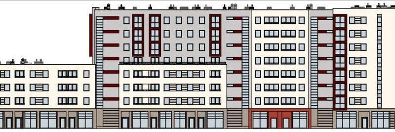 Projekt domu komunalnego - Odrowąża