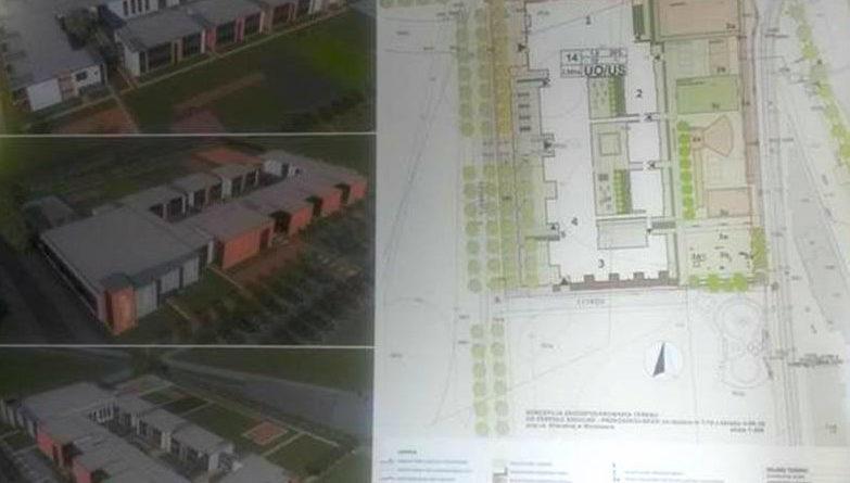 Projekt szkoły i przedszkola - Gilarska