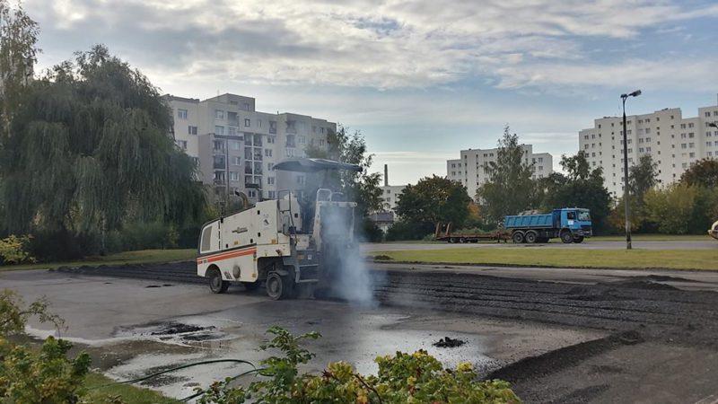 W zeszłym tygodniu zaczął się remont boiska / fot. targowek.info