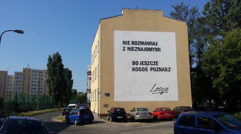Mural Loesje przy Gościeradowskiej / fot. targowek.info