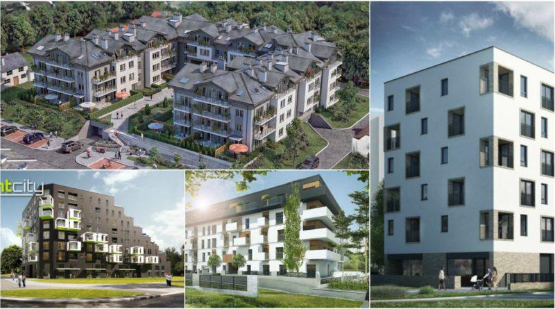 Cztery nowe inwestycje (mieszkaniowe) w dzielnicy
