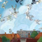Stare domy, bloki i gołębie – powstał piękny komiks o dawnym Targówku