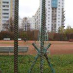 Tenisiści bronią kortów w Parku Bródnowskim