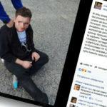 Burza w internecie: mężczyzna z nożem zaatakował na Bródnie
