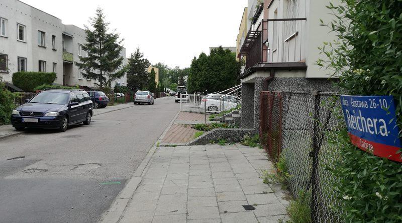 Koniec konsultacji w sprawie ulicy Reichera. Tak zdecydowali mieszkańcy