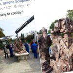 Odsłonięcie pomnika Mieszczan z Bródna. Jest mniejszy niż myślicie – zobaczcie zdjęcia