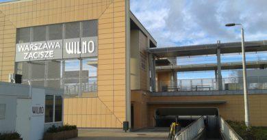 Powstanie dojazd do stacji PKP Zacisze-Wilno