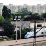 Wypadek Pendolino obok stacji Warszawa Toruńska