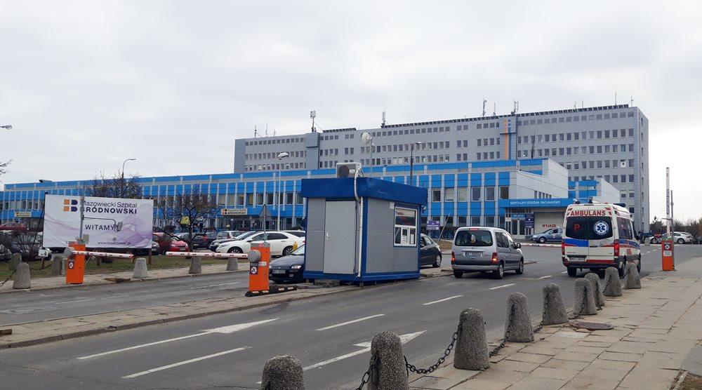 Mazowiecki Szpital Bródnowski ul. Kondrartowicza