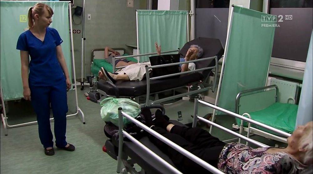 """Szpital Bródnowski w serialu """"Młodzi lekarze"""""""