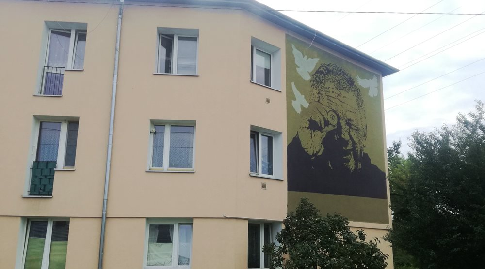 Mural Józefa Balcerka na Targówku